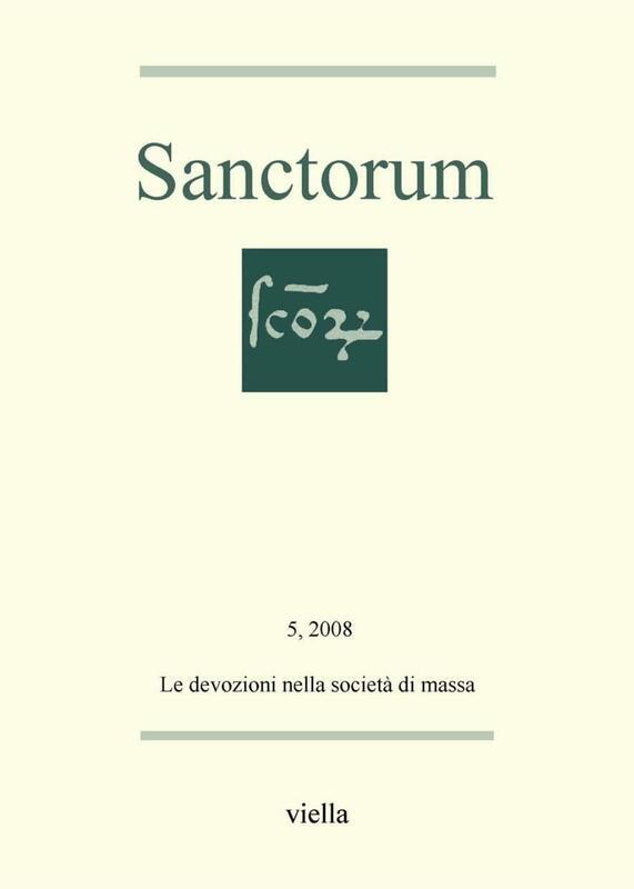 Sanctorum 5: Le devozioni nella società di massa