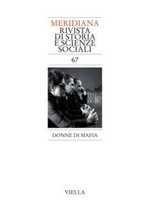 Meridiana 67: Donne di mafia