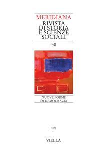 Meridiana 58: Nuove forme di democrazia