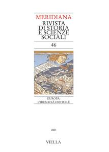 Meridiana 46: Europa: l'identità difficile