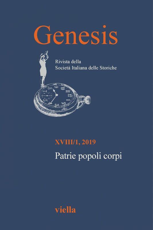 Genesis. Rivista della Società italiana delle storiche (2019) Vol. 18/1