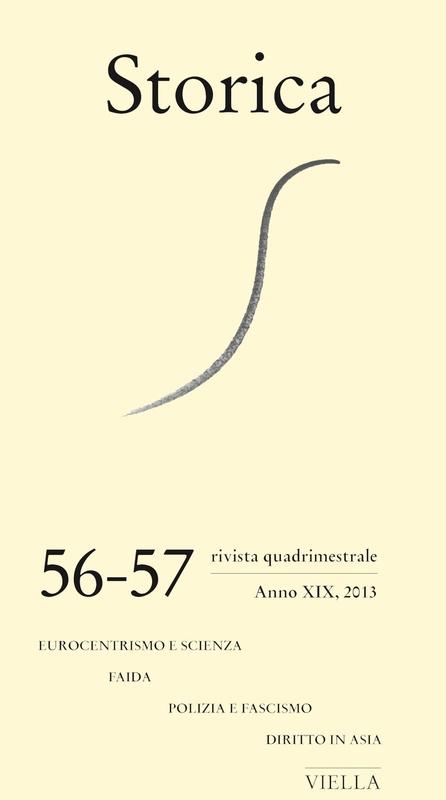 Storica (2013) Vol. 56-57 Eurocentrismo e scienza