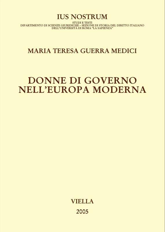 Donne di governo nell'Europa moderna