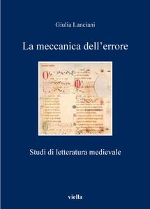 La meccanica dell'errore Studi di letteratura medievale