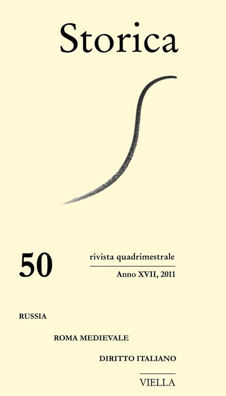 Storica (2011) Vol. 50