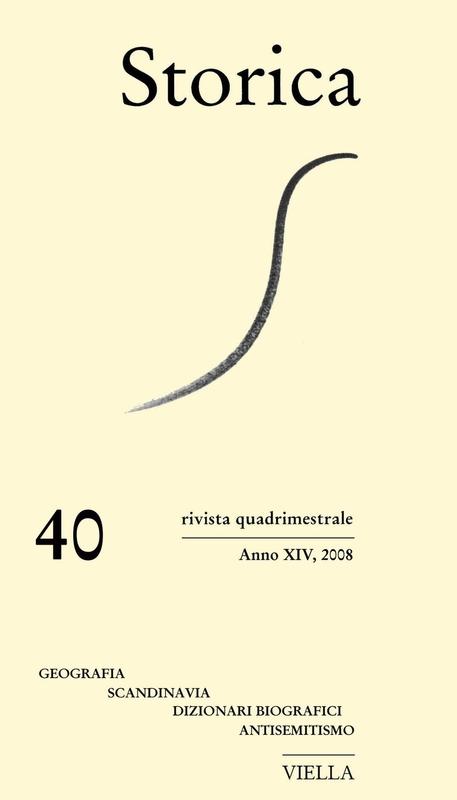 Storica (2008) Vol. 40