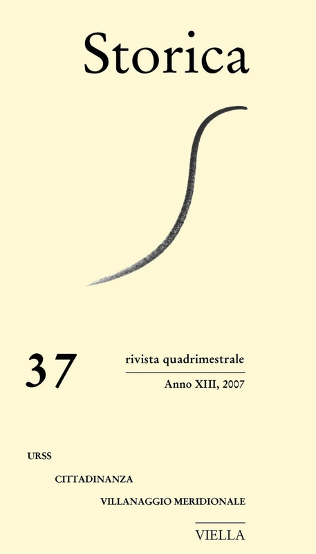 Storica (2007) Vol. 37