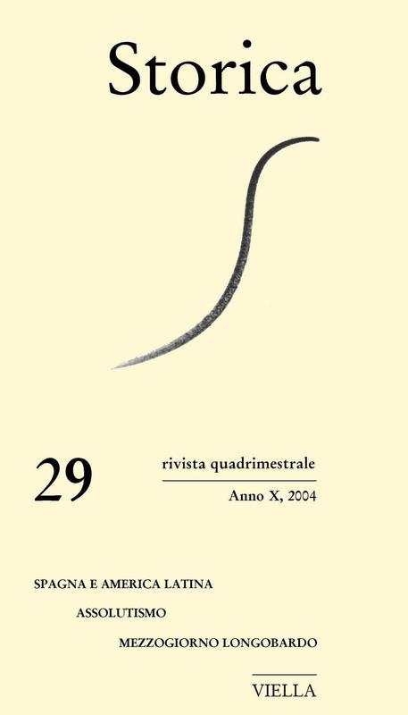 Storica (2004) Vol. 29