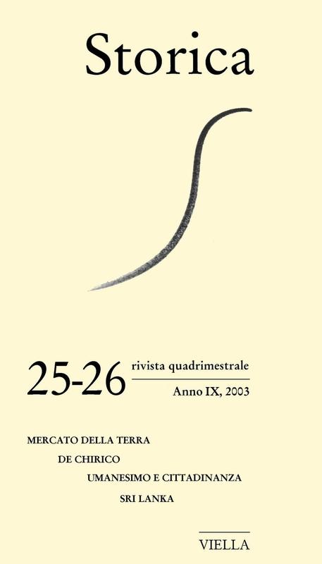 Storica (2003) Vol. 25-26