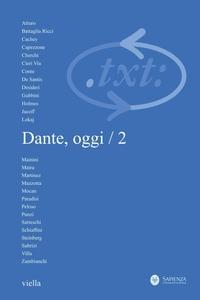 Critica del testo (2011) Vol. 14/2 Dante, oggi / 2