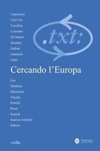 Critica del testo (2010) Vol. 13/3 Cercando l'Europa