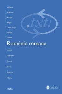 Critica del testo (2009) Vol. 12/1 Romània romana