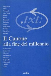 Critica del testo (2000) Vol. 3/1 Il Canone alla fine del millennio