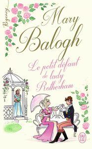 Regency - Le petit défaut de lady Rotherham
