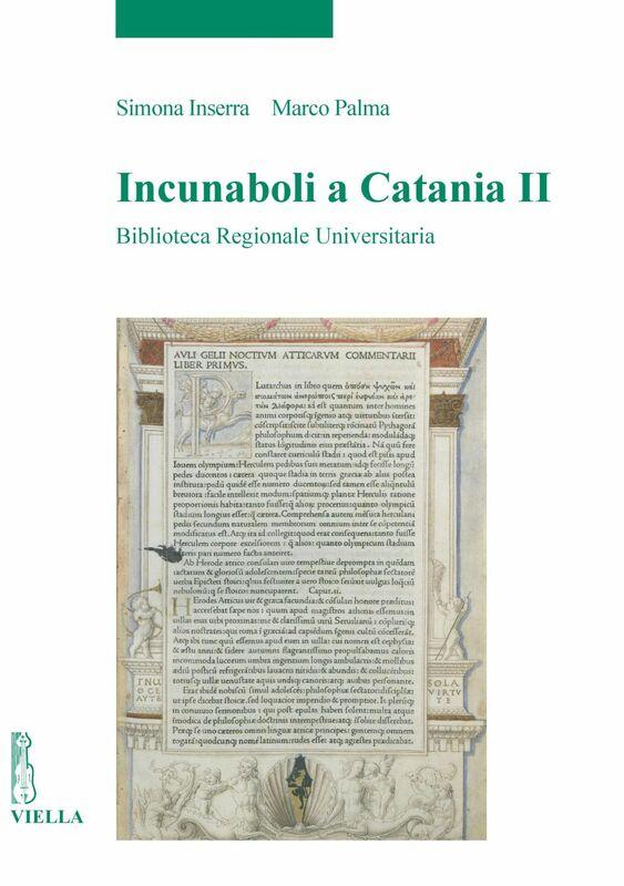 Incunaboli a Catania II Biblioteca Regionale Universitaria