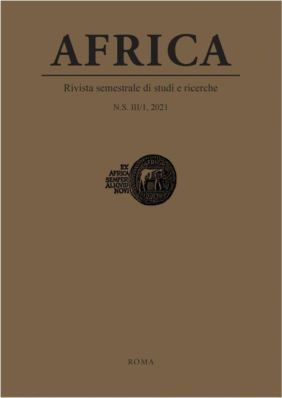 Africa. N.S. III/1, 2021