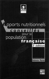 Apports nutritionnels conseillés pour la population française
