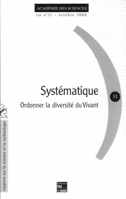 Systématique : ordonner la diversité du vivant