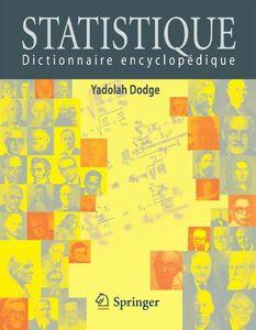 Statistique : dictionnaire encyclopédique