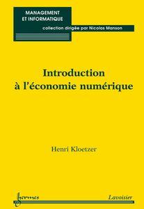 Introduction à l'économie numérique