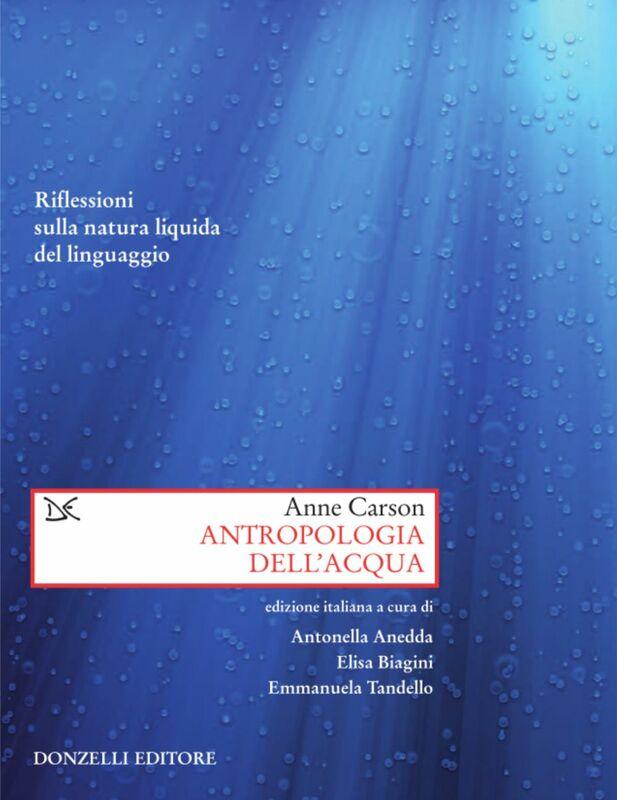 Antropologia dell'acqua Riflessioni sulla natura liquida del linguaggio
