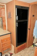 Photo Rv refrigerator 8-cubic-foot works well electric-propane