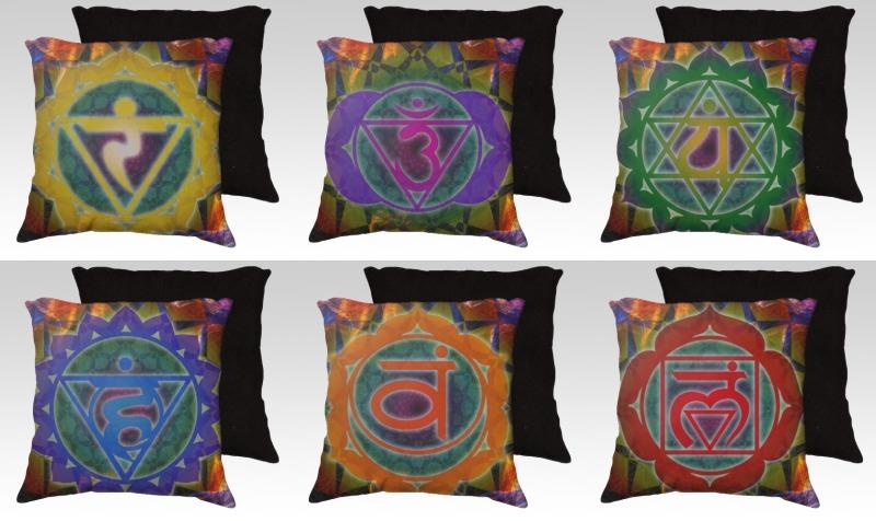 7 Chakra Pillow Set preview