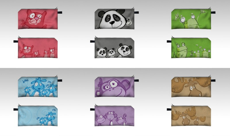 Animal Collection - PENCIL CASES jandolby.com preview