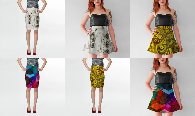 Skirts - Fitted and Flared preview