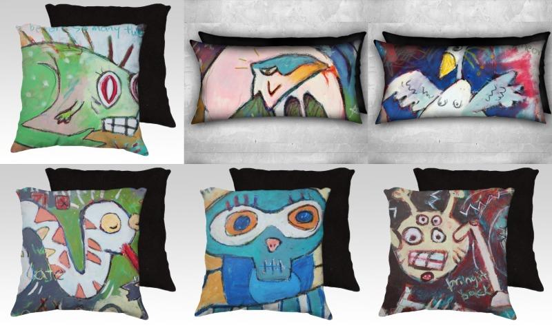 Art Pillows preview