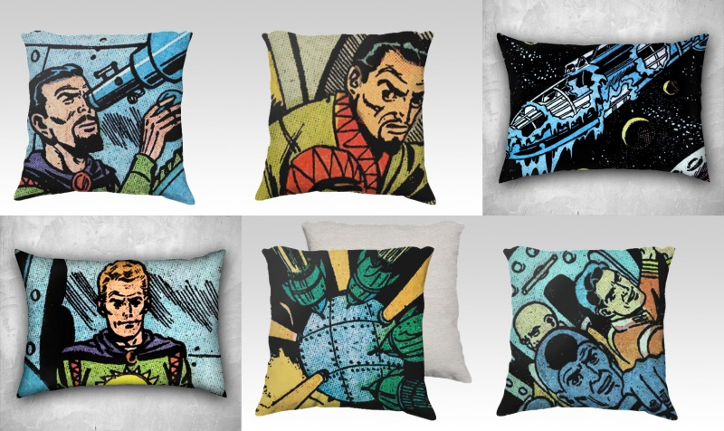 Space Pulp Pillows preview