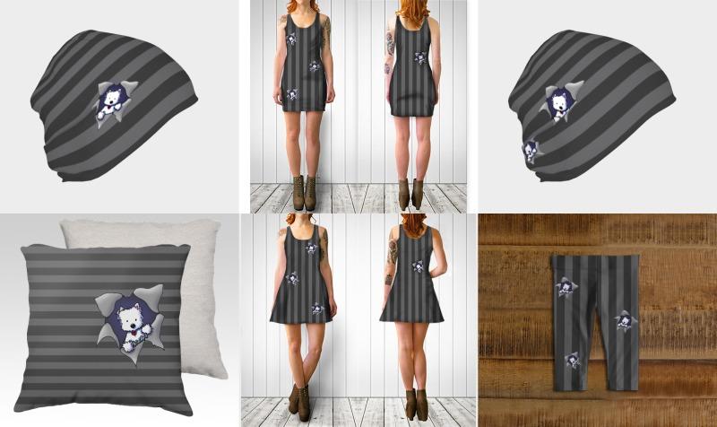 KiniArt Striped Westie BLAST preview