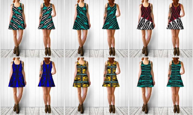 Flare Dresses / Long Tops preview