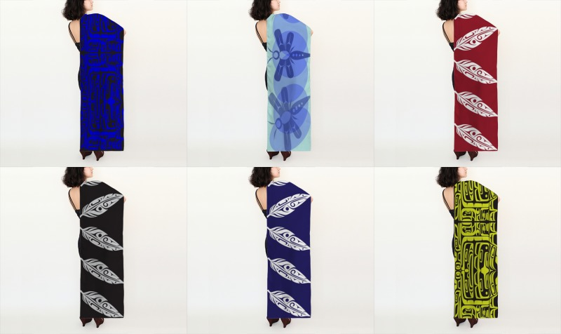 Silk Scarves - Long preview