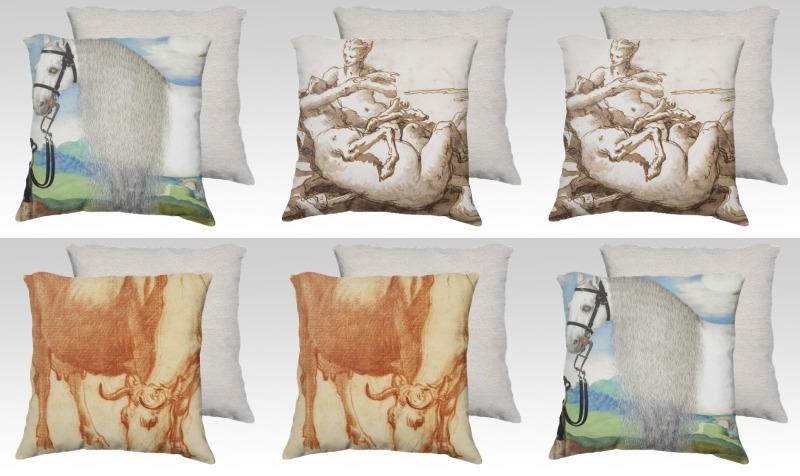 Fine Art Pillows preview