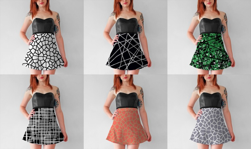 flare skirts by trebam preview
