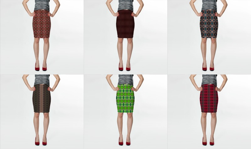 FITTED SKIRTS preview