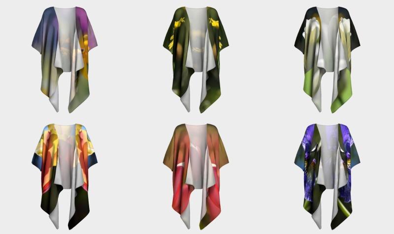 Draped Kimono Collection preview