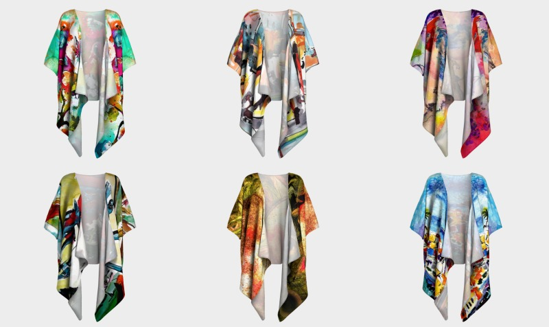 Kimonos & Wraps preview