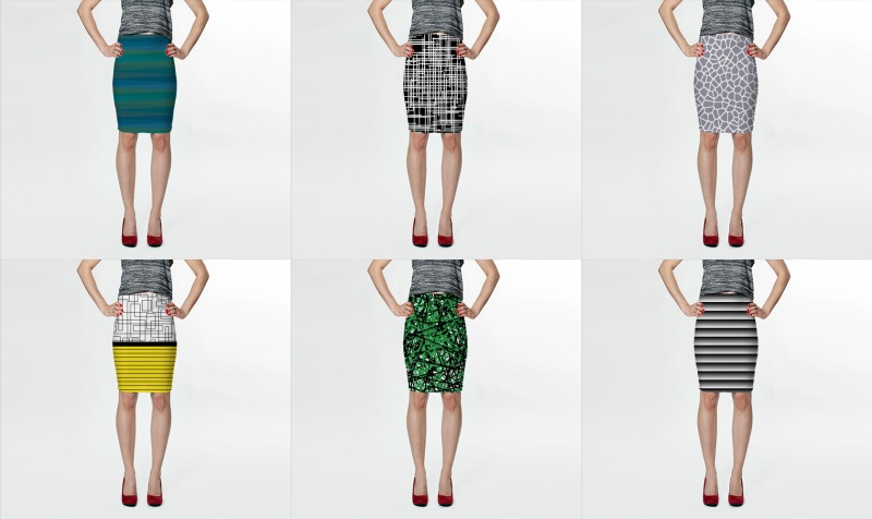 fitted skirts by trebam preview