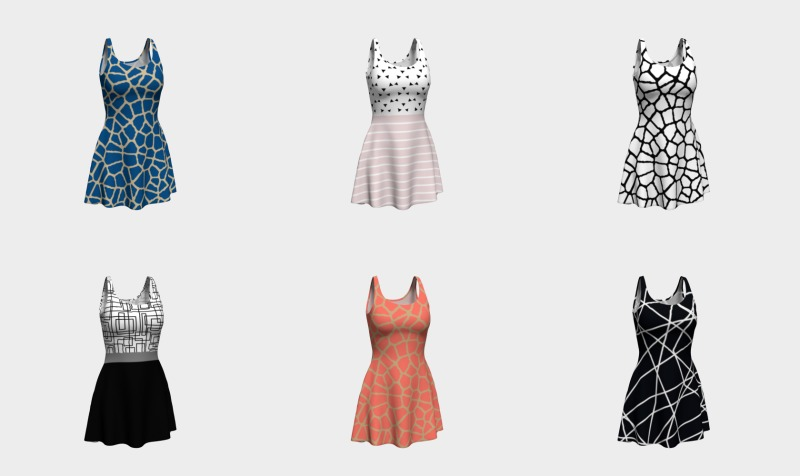 flare dresses by trebam preview