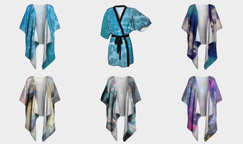 Draped kimono - Design by JOLA preview