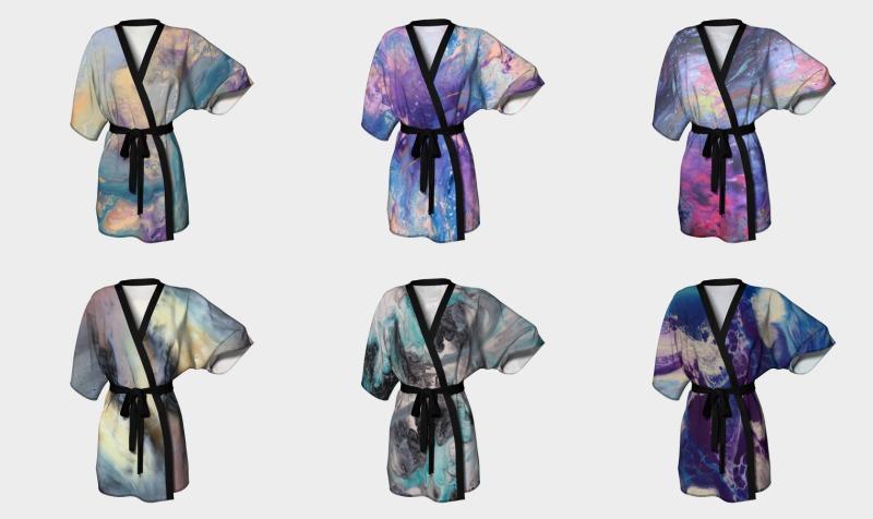 Kimono robe - Design by JOLA  preview