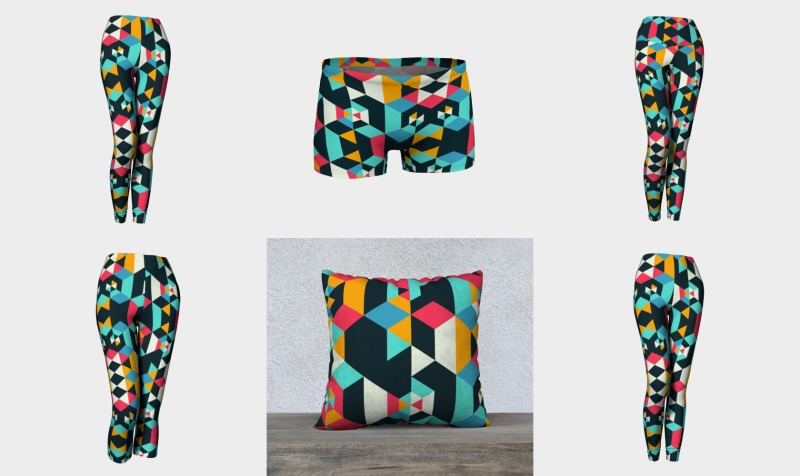 Aperçu de Modern Colorful Geometric