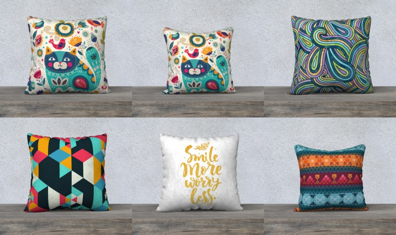All Over Print : Pillow preview