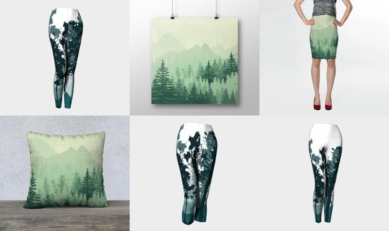 Aperçu de Forest Pine