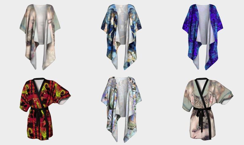 Aperçu de Kimonos