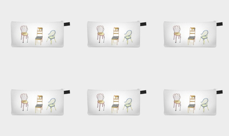 5 chairs 1 tac design by Nadina Tandy :  preview