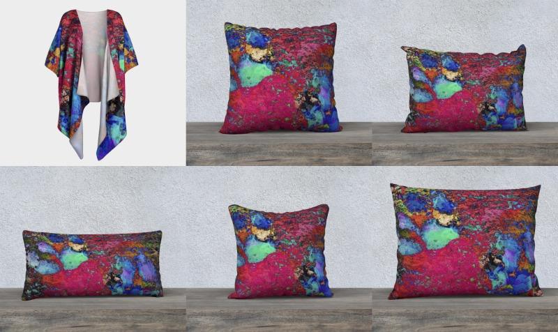 Paw Prints Colour Explosion preview