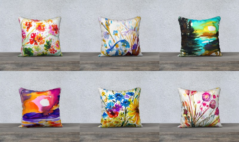 Couvres-coussins/Cushion covers 18 x 18 preview